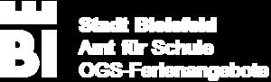 Logo Bielefeld - Amt für Schule - OGS-Ferienangebote